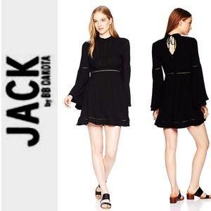 NEW JACK by BB DAKOTA Black Charrelle A-line DRESS